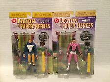 Dc Legione diretta dei Super Eroi Lightning LAD e cosmica BOY FIGURE MIB