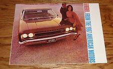 Original 1967 AMC American Motors Rambler Rebel & American Sales Brochure 67