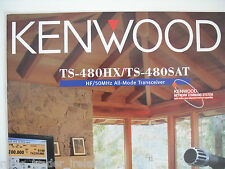 Kenwood TS-480 (original folleto sólo)... radio _ trader _ Irlanda.