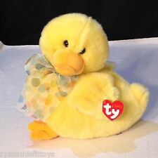 Retired TY CLASSIC - BILLINGS the bow tie DUCK - Beanie Buddy - MINT w/ Tag