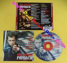 CD SOUNDTRACK MEL GIBSON Payback VSD 6003 GERMANY 1998 no mc lp vhs dvd (OST3)