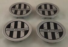 Victor Equipment Wheels Silver Custom Wheel Center Cap Caps Set 4 (1) # C-E76