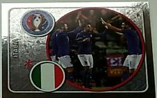 459 ITALY team shiny Panini Euro 2016 France sticker ITALIA