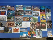 Lot of 36 Postcards in Photo Album, Postcards From Around the World Japan, Taiwa