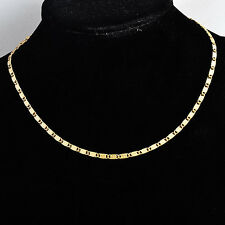 Fashion jewelry vintage korean Gold plated  Womens/Mens long Necklace
