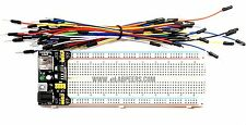 Breadboard Power Supply with breadboard and wire AMS1117 5V/3.3V (Ship from USA)