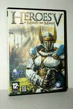 HEROES V HEORES OF THE MIGHT AND MAGIC USATO PC DVD VER ITALIANA RS2 50755