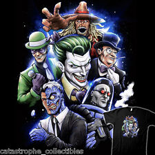 BATMAN Rogues Gallery DC Comic The Joker Two-Face Riddler NEW TEEVILLAIN T-SHIRT