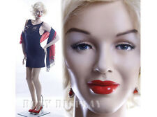 Sexy Female Fiberglass Mannequin Marilyn Monroe Style Dress Form #MZ-MONROE2
