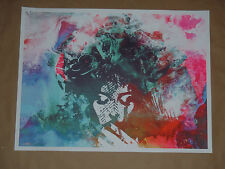 All We Love We Leave Behind Jacob Bannon signed print poster Converge Jane Doe