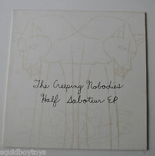 THE CREEPING NOBODIES: Half Saboteur EP  Record