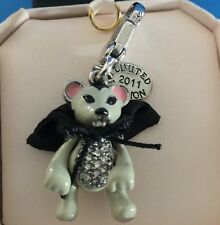 NIB JUICY COUTURE Vampire MOUSE Bracelet Charm AUTHENTIC Limited Edition Retired