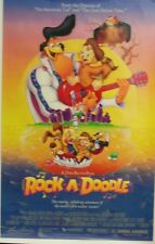 Rock-A-Doodle Original Single Sided Movie Poster Glen Campbell Phil Harris 1991