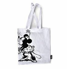 Vintage Mickey & Minnie Mouse Kissing Shopper Bag