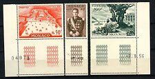 Monaco 1956 SG#550-2, 40pf - 100f Fipex Stamp Exhibition MNH #A58336