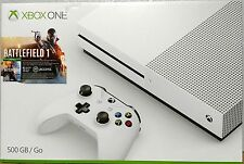 Xbox One S Console (500GB) - Battlefield One Version Game Included *New In Box*