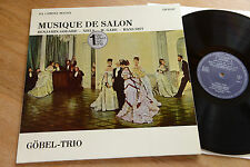 GÖBEL TRIO Musique De Salon GODARD GADE SITT LP Da Camera Magna SM 92107 nm-mint