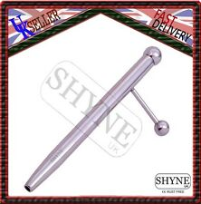 PRINCE ALBERT WAND HOLLOW END AND SIDE BALL URETHRAL BAR,BARBELL PIERCING