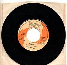 JENNY NICHOLAS disco 45 giri ITALY Elvis + Daddy's gone bye STAMPA ITALIANA 1977