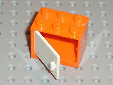Boite LEGO Orange Container Cupboard ref 4532 / Set 7686 7680 7586 4840 ...