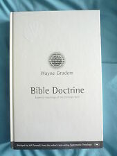 DOCTRINE--Essential Teachings of the Christian Faith--Wayne Grudem HB 1992 IVP