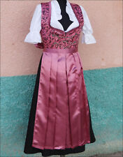 Bavarian,German,Trachten,Festival,Oktoberfest,Dirndl Dress,3-pc.Sz.22,Malve..