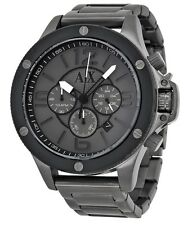 Armani Exchange Gunmetal Chronograph Mens Watch AX1514