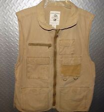 17087 Mens Banana Republic Photographers Safari Fly Fisherman's VEST ~ L Large
