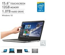 NEW Dell Inspiron 15 5000 Touchscreen Laptop Notebook Computer PC i5 12GB 1TB