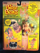 Tyco Bitsy Bears #1521 Beany Happy Bear with VHS