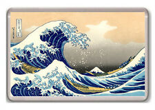 HOKUSAI - THE GREAT WAVE 1830-1833 FRIDGE MAGNET IMAN NEVERA