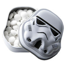 OFFICIAL STAR WARS STORMTROOPER MINTS IN A TIN - Retro Sweets Helmet Shaped Tin