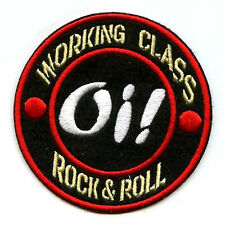 CAFÉ RACER ROCKERS TON-UP BOYS PATCH: Oi! SKA SKINHEAD WORKING CLASS ROCK & ROLL