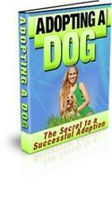 Adopting A Dog Ebook On CD $5.95 Plus Resale Rights Free Shipping