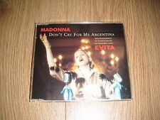 Madonna – Don't Cry For Me Argentina CD single