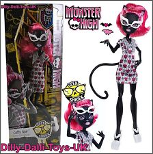 "Nouveau monster high catty noir chat poupée de la série ""shriek"" geek chic ckd79"