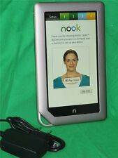 Barnes & Noble NOOK Color 16gb BNTV250  silber ereader Tablet WiFi