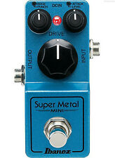 NEW IBANEZ SUPER METAL MINI METAL DISTORTION PEDAL w/ FREE CABLE 0$ US SHIPPING