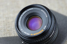 Minolta ROKKOR 40mm 45mm f/2 Leica M Mount Adapted Lens CL M5 M9 M8 M7 M6 camera
