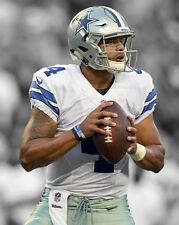 Dallas Cowboys DAK PRESCOTT Glossy 8x10 Photo Football Print Spotlight Poster