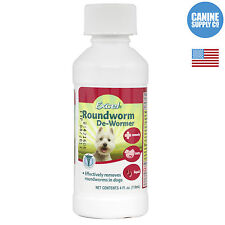 8 in 1 Excel Roundworm De-Wormer Liquid For Dogs 4 Oz.