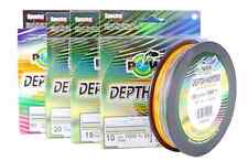 FILO TRECCIATO POWER PRO DEPTH HUNTER MULTICOLOR 0,15mm / 9kg / 300mt