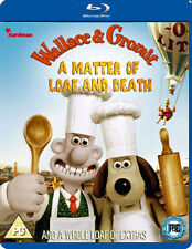 WALLACE & GROMIT - A MATTER OF LOAF AND DEATH - BLU-RAY - REGION B UK
