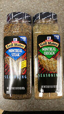 McCormick Grill Mates MONTREAL CHICKEN & STEAK SEASONING 2 x  23 oz COMBO PACK