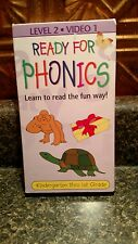 Ready for Phonics Level 2 Video 1 vhs  Guc