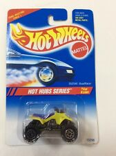1994 Hot Wheels Int. Blue Card #311 Yellow Suzuki QuadRacer 1:64 Scale MOC