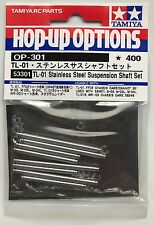 Tamiya 53301 TL-01 Stainless Steel Suspension Shaft Set (TL01/FF02/M03/WR02) NIP