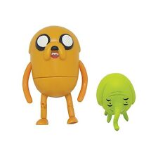 "Adventure Time 3"" Poseable Figures; Jake & Tree Trunks NEW"