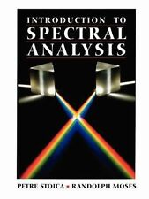 Introduction to Spectral Analysis, Moses, Randolph L., Stoica, Petre, Acceptable