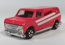 1970s 1980s Sunbird Ford Econoline Conversion Van Super Scale Model Red